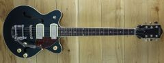 Gretsch G2655T-P90 Streamline Center Block Jr. Double-Cut P90 with Bigsby Two-Tone Midnight Sapphire /Vintage Mahogany