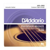Daddario EJ26 Custom Light 11~52 (10 Sets)