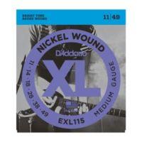 Daddario EXL115 Blues/Jazz Rock 11~49 (10 Sets)
