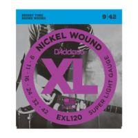 Daddario EXL120 Super Light 9~42 (10 Sets)