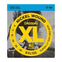 Daddario EXL125 Super Top/Regular Bottom 9~46 (10 Sets)