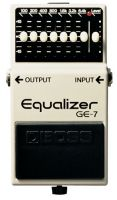 Boss GE7 Graphic Equalizer Effects Pedal