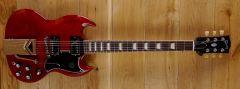 Gibson USA SG Standard 61 Sideways Vibrola Vintage Cherry 22071067