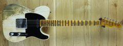 Fender Custom Shop 52 Tele Super Heavy Relic White Blonde R107307