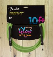 Fender Professional Series Glow In The Dark 10ft Cable Green