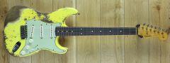 Fender Custom Shop 59 Strat Super Heavy Relic Graffiti Yellow R110403