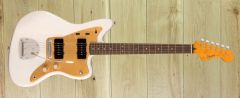 Squier  FSR Classic Vibe Late '50s Jazzmaster®, Laurel Fingerboard, Gold Anodized Pickguard, White Blonde