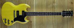 Gibson Custom M2M 1963 SG Special Reissue Lightning Bar VOS TV Yellow 100413