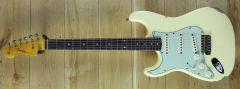 Fender Custom Shop 59 Strat Relic Vintage White Left Handed ~ R109518
