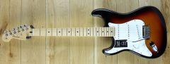 Fender Player Strat Maple 3 Tone Sunburst Left Handed