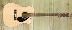 Fender CD60SCE 12 String Natural