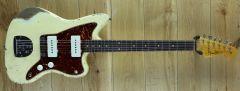 Fender Cusom Shop 61 Jazzmaster Heavy Relic Faded Aged Vintage White R108049