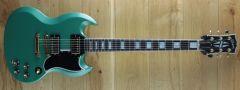 Gibson Custom M2M SG Custom 2-Pickup w/ Ebony Fingerboard VOS Inverness Green  001291