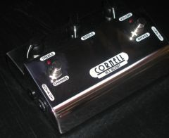Cornell TM Boost Overdrive Effects Pedal
