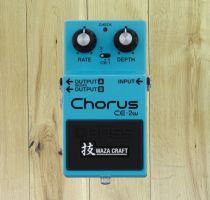Boss CE2W WAZA Craft Chorus Pedal