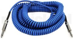 Daddario PW-CDG-30BU Coiled 30 Foot Cable Blue RRP £44
