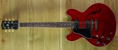 Gibson USA ES335 Sixties Cherry Left Handed 217100192