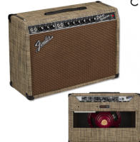 Fender Limited 65 Deluxe Reverb Chilewich Bark