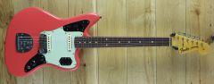 Fender Custom Shop 63 Jaguar Journeyman Relic Fiesta Red CZ551121