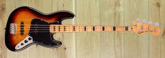 Squier Classic Vibe 70 Jazz Bass Maple 3 Tone Sunburst