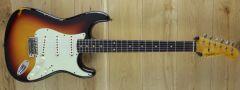 Fender Custom Shop 59 Strat Relic Chocolate 3 Colour Sunburst R116420