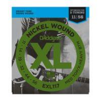 Daddario EXL117 Medium Top Xtra Heavy Bottom 11-56 (10 Sets)
