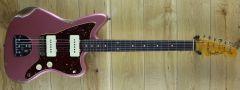 Fender Cusom Shop 61 Jazzmaster Heavy Relic Faded Aged Burgundy Mist R109484