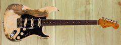 Fender Custom Shop Summer Dealer Event Poblano Strat Super Heavy Relic Aged Olympic White  CZ551238  ~ Coming Soon