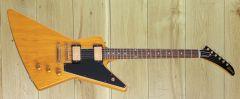 Gibson Custom 1958 Korina Explorer Reissue Black Pickguard ~ Pre Order