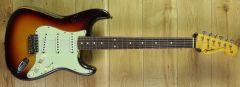 Fender Custom Shop Kyle McMillin Masterbuilt 60 Strat Relic Chocolate 3 Tone Sunburst R105389