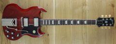 Gibson USA SG Standard 61 Sideways Vibrola Vintage Cherry 220710067