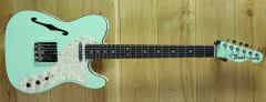 Fender Limited Edition Two-Tone Telecaster, Ebony Fingerboard, Surf Green