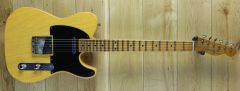 Fender Custom Shop Carlos Lopez  Masterbuilt 52 Tele Journeyman Relic Butterscotch Blonde R106382