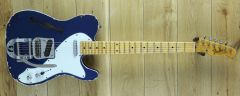 Fender Custom Shop Yuriy Shishkov Masterbuilt Thinline Tele Relic Candy Blue 2014 ~ Secondhand