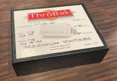 ThroBak DT-102 P.A.F. Humbucker Guitar Pickup Set, Shiny Nickel