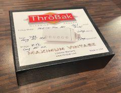 ThroBak SLE101 Plus MXV P.A.F. Humbucker Pickup Set, Aged Nickel