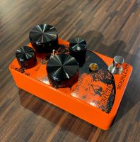 Greuter Moonlight Fuzz Black on Orange