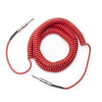 Daddario PW-CDG-30RD Coiled 30 Foot Cable Red RRP £44