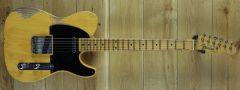 Fender Custom Shop Carlos Lopez  Masterbuilt 52 Tele Relic Butterscotch Blonde R107441
