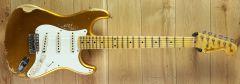 Fender Custom Shop Kyle McMillin Masterbuilt 55 Strat Relic Frost Gold R108043