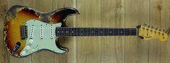 Fender Custom Shop 59 Strat Super Heavy Relic 3 Tone Sunburst R110302