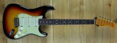 Fender Custom Shop Yuriy Shishkov Masterbuilt 61 Strat Journeyman Relic 3 Tone Sunburst R111159