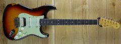 Fender Custom Shop Ron Thorn Masterbuilt 61 Fat Strat Relic Chocolate 3 Tone Sunburst R111166