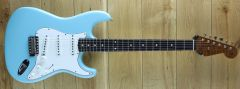 Fender Custom Shop Ron Thorn Masterbuilt 60 Strat Lush Closet Dahpne Blue R111244