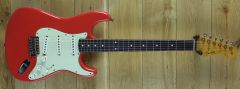 Fender Custom Shop Carlos Lopez Masterbuilt 61 Strat Journeyman Relic Fiesta Red R111466
