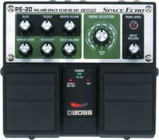 Boss RE20 Space Echo Analogue Delay Twin Effects Pedal