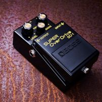 Boss SD1 40th Anniversary Super OverDrive Effects Pedal