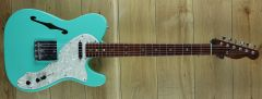 Fender Custom Shop Dennis Galuszka Masterbuilt 67 Tele Thinline Closet Classic Sea Foam Green ~ Secondhand