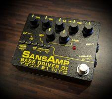 Tech 21 Sansamp Bass Driver V2