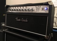 Two Rock Classic Reverb Signature Sliver Front Panel 100/50 ~ Due May 2022